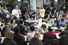 Jantar com Lideranças - Restaurante Braseirinho