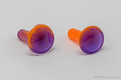 Resin Wares Ear Plugs (joeeckert) Tags: 80d resinwares eargauge eargauges earplug earplugs earring epoxy epoxyresin gauge gauges jewelry plug plugs resin
