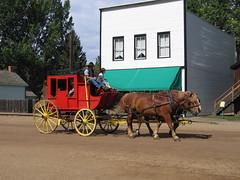 Fort Edmonton Park - 1885 Street - Stagecoach (januszsl) Tags: edmonton alberta canada horseandcarriage horseandbuggy boquet dorożka droshky droschke fiaker fiakr fiakier skansenmuzeum etnograficzne open air museum skansen openairmuseum freilichtmuseum écomusée musée muzeum