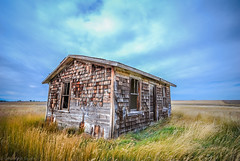 Long Time Forgotten (DeVaughnSquire) Tags: old vintage abandoned prairies alberta canada rural country decay field sky rustic