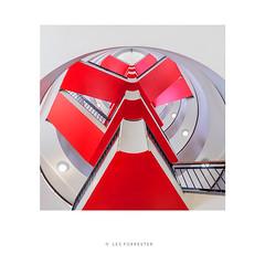 Code Red (les forrester) Tags: architecture interiors design artdeco openhouselondon staircase red lookup london fujifim fujiholics fujifilmuk