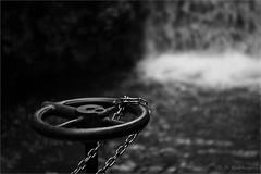 chained valve wheel (klaus.huppertz) Tags: fondo italien blackwhite valve wheel water wasser wasserfall waterfall nikon nikond750 d750 nikkor technik ventil kette chain technology technique technics 2470mmf28g italy lagosmeraldo