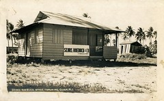 Photo Of Sears Agency Store In Guam After WWII