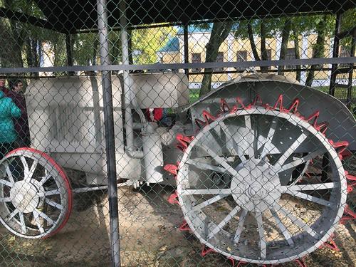 Die Leistungen des Traktorbaus