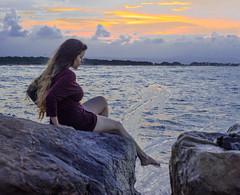 DSC_2931 (leonardorizalez1) Tags: playa venezuela beach sol sun atardecer horizonte mar arena distancia azul nikon d5100