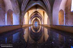 Baths of Lady María de Padilla, Alcazar, Seville (darkmavis) Tags: alcazar andalucia andalusia arabs architecture baths building historical history seville spain travel sevilleprovince es