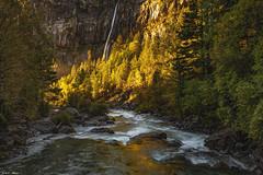 Salto del Carpín (sostingut) Tags: río cascada montaña valle cañón bosque árbol rocas piedra sol luz contraluz pirineos d750 tamron haida cordillera otoño