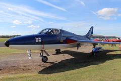 IMG_9632 (routemaster2217) Tags: northweald aviation aeroplane aircraft jetaircraft fighterjet jettrainer trainingaircraft royalnavy rn bz admiralsbarge canfieldhunterltd hawkerhuntert8b rollsroyceavon wv322 gbzse