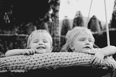 just can't get enough (freundsport) Tags: baby child children flickr new free familie family boy girl kids light people sun street kinder outside outdoor childhood sony sony7m3 sony7iii love lovely photography childish cute sweet zeiss germany pretty detail sunlight blackandwhite black nocolour bw monochrome onlyblack white dark swing playground autumn october herbst oktober eyes smile lachen happy air nature portrait brother sister