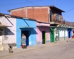 Coyotepec (geneward2) Tags: coyotepec mexico architecture woman street building