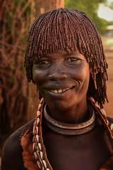 Hamar Tribe (Rod Waddington) Tags: africa african afrique afrika äthiopien ethiopia ethiopian ethnic etiopia ethnicity ethiopie etiopian omovalley outdoor omo omoriver hamer hamar tribe traditional tribal culture cultural woman portrait people