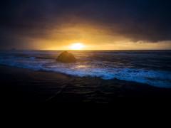Cannon Beach, Oregon (EdBob) Tags: cannonbeach beach beautiful sunset rock drone dji aerial dramatic phantom3 night dusk water pacificocean pacificnorthwest oregon autumn fall surf waves horizon clouds edmundlowephotography edmundlowe nature outdoors sun sand america usa allmyphotographsare©copyrightedandallrightsreservednoneofthesephotosmaybereproducedandorusedinanyformofpublicationprintortheinternetwithoutmywrittenpermission