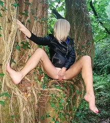 Naughty in the woods (newport50) Tags: sexylegs sexyteasing verysexy sosexy sexytease sexyinpublic sexypose sexyfeet sexydare sexyarse coldsexyfeet sexybum sexyerotic sexybarefeet sexyskirt sexyphotoshoot sexygirl naughtyrequest blondenaughty naughtymelissa fetish sensual