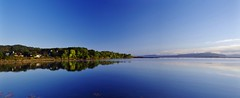 Blue above and below (Sundornvic) Tags: isle skye scottland island mountains morning light sun shine water rocks wild