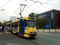 7756-12457§0 (VDKphotos) Tags: stib mivb bn pcc t7700 tram livrée91 l56 belgium bruxelles