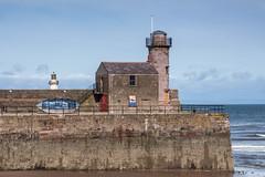 Inner Breakwater Old Lighthouse (SKAC32) Tags: whitehaven cumbria lighthouse disused bluesky atlanticocean irishsea