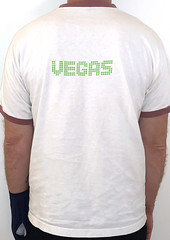 #3119B the Crystal Method - Vegas (Minor Thread) Tags: minorthread tshirtwars tshirt shirt vintage rock concert tour merch white ringer crystalmethod vegas 1997 outpostrecordings electronic