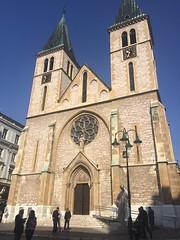 Sacred Heart Cathedral (Michal Kuban) Tags: bosnia hercegovina 2018 sacred heart cathedral sarajevo