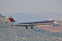 OY-RUT McDonnell MD-82 Danish Air Transport AGP 22-09-18 (PlanecrazyUK) Tags: lemg malaga–costadelsolairport malaga costadelsol oyrut mcdonnellmd82 danishairtransport agp 220918