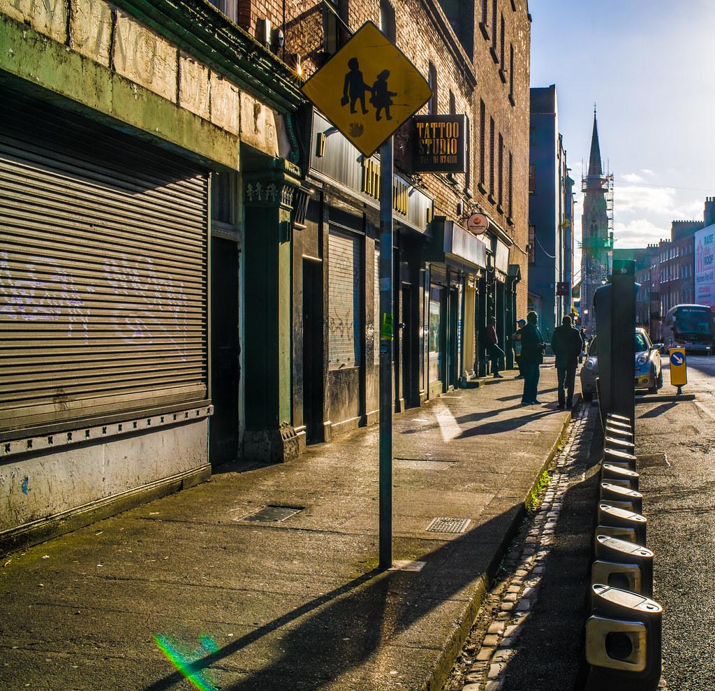 DUBLINBIKES DOCKING STATION 59 [GREAT DENMARK STREET]-144956