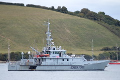 Watching The Edges (dhcomet) Tags: falmouth cornwall hmc vigilant border force agency cutter