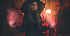 Of Light and Dark (Cassandra Middles) Tags: sl secondlife second life witch evil dark photography izzies salem prism events doe skinnery alaska metro valentina e paparazzi livid florix real realevil video game virtual world wizard horror tears emotional story roleplay