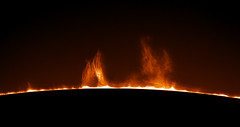 Prominence (plndrw) Tags: ha hydrogenalpha zwo televue prominence sun solar