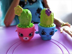Up close (flores272) Tags: prickles shopkins toy toys cactus