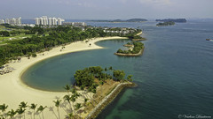 Sentosa island, Singapore (Veselina Dimitrova) Tags: greatphotographers sentosaisland singapore drone aerial mavic pro mavicpro photooftheday picture pictureoftheday pic palmtrees photography summer island ocean water goodtime hotweather sun sand outside vacation best trip weekend ship boat boats fromthesky bluesky