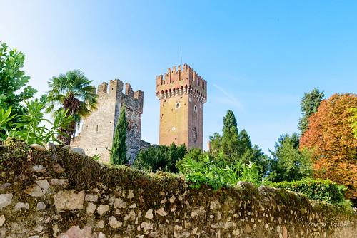 Torre del castello Scaligero a Lazise, Lago di Garda