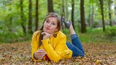 IMG_9436 (fab spotter) Tags: younggirl portrait forest levitation brenizer extérieur lumièrenaturelle