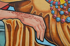 Resting (radargeek) Tags: norman ok oklahoma 2018 october mural painting henna hand