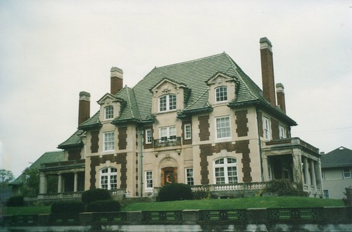Piqua Ohio - Leo Flesh Mansion - Historic house   - 650 N Downing St, Piqua, OH 45356 ...