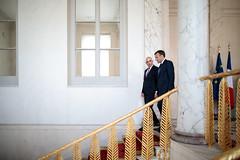 2018-09-12 Entretien avec le Président suisse, Alain Berset - Non utilisable par la Presse - (Elysée - Présidence de la République) Tags: alainberset macron suisse elysee entretien président
