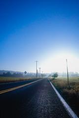 Ride (maldonan) Tags: oregon beaverton road fog sunrise