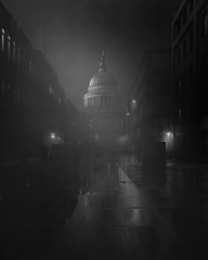 Whispering (jellyfire) Tags: architecture building buildings city darkthoughts distagont3518 landscape landscapephotography london mono rain sony sonya7r stpaulscathedral thames water ze zeissdistagont18mmf35ze atmospheric cityscape clouds dark fog moody night river tourism unitedkingdom wet wwwleeacastercom zeiss
