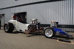 Altered_2736 (Fast an' Bulbous) Tags: racecar drag race strip track pits car vehicle automobile outdoor santa pod nikon d7100 gimp santapod