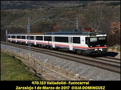 idn7103 (ribot85) Tags: 470123 470 tren trenes trains train renfe renfeviajeros renferegionales zarzalejo caf