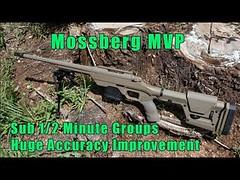 MVP Rifle SUB 1/2 MOA Accuracy Improvement-Mossberg MVP Long Range Rifle-LRK MVP Accuracy Gunsmiths (LRK Mechanical) Tags: mvp rifle sub 12 moa accuracy improvementmossberg long range riflelrk gunsmiths