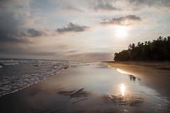 Serenity (Monika Kalczuga (on&off)) Tags: bali indonesia asia beach sunset ocean indianocean coastline shoreline sand kelaparetreatspa pekutatanbeach clouds sky water