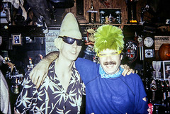 Hutley's. A few photos from a a couple 1980's Halloween Partys. Some pre smoking ban! (BruceLorenz) Tags: hutley hutleys 1982 1983 halloween party smoker smokers costumes kevin mcnamara