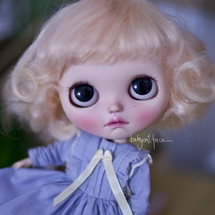 I swapped her mango scalp into this one. (_babycatface_) Tags: blythe blythecustom babycatfacedollies babycatface custom customblythe customdoll cute cutiepie doll dollphotography dollcustom toy toyphotography takara takaradoll takaratoy