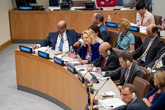 Außenministerin Karin Kneissl nimmt an der UNO-Generalversammlung teil.