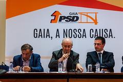 Rui Rio com militantes do distrito do Porto