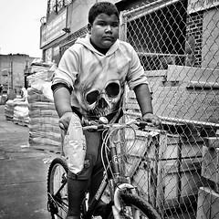 Avenue C He rides a pale bike. (AMRosario) Tags: ifttt instagram