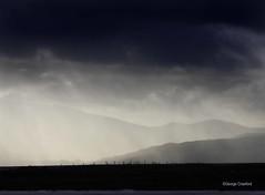 Rain from Arran to Ardeil Bay (g crawford) Tags: crawford ayrshire northayrshire portencross westkilbride ardneil bay beach ardneilbay rain weather arran clyde firthofclyde river riverclyde sea mist storm dark evening
