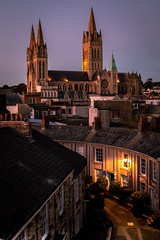 Truro Cathedral (Dom Haughton) Tags: truro cornwall canon eos 80d westcountry westcountryclickers kernow city evening autumn cityscape town urban cathedral church