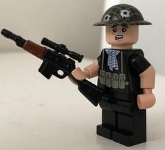 * Fortunate Son Intensifies * (ten.dinosaurs) Tags: moddedbrickarms cool brickarms gun lego citizenbrick custom minifigure mod modcom dragunov vietnam toys toynation