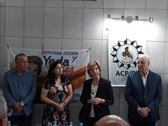 26/09/18 - Visita a Associação dos Comissários de Polícia do RS (ACP/RS). Recepcionada pelos comissários Mello, Beatriz e Chicão.