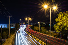 Motion (panos_adgr) Tags: nikon d7200 long exposure photography night road scene motion moving lights urban scape city photo bridge cars tripod athens attica greece
